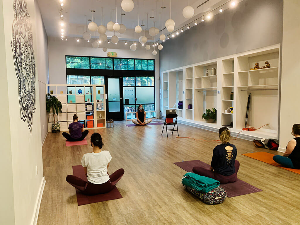 Bliss Body Yoga Studio Reopening